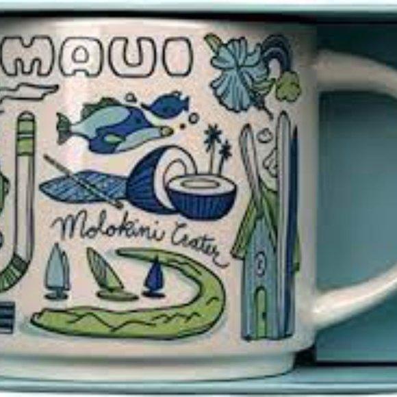 Brand New Maui Starbucks Mug